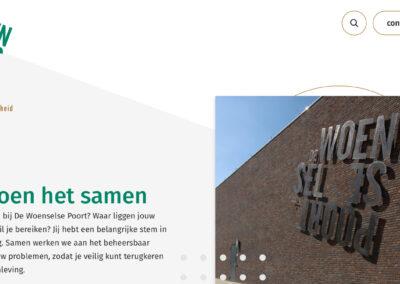 Nieuwe website De Woenselse Poort